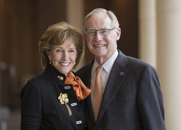 President Burns Hargiss and First Lady Ann Hargiss OSU