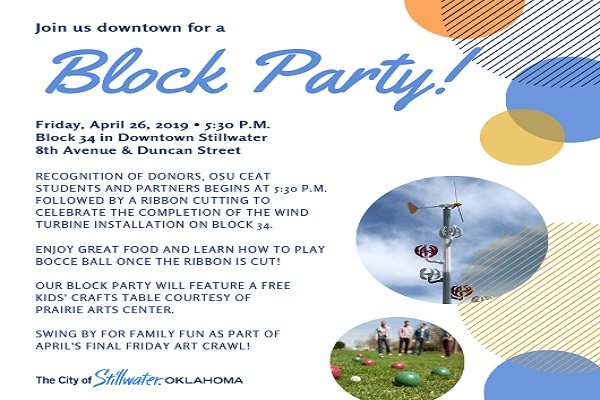 Invitation to block party